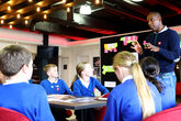 Local pupils take part in No Room for Racism workshops